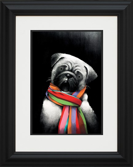 Small But Mighty by Doug Hyde - Framed Limited Edition on Paper